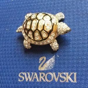 Authentic Swarovski Signed Brooch